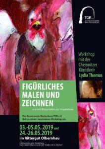 Workshop Figürliches Malen und Zeichnen @ Jugend- und Kulturzentrum Rittergut Olbernhau